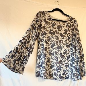 Luna Project Bell Sleeve Top